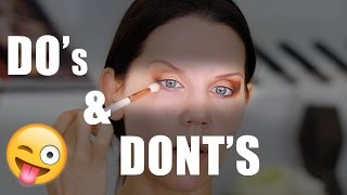 DO'S & DONT'S | Best Eyeshadow Tips