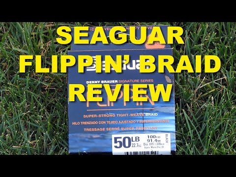 Seaguar Flippin Braid Review | Bass Fishing