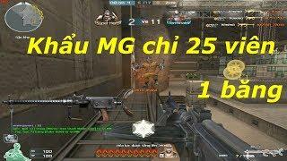 [ Bình Luận CF ] MG13 - Uy lực siêu mạnh - Tiền Zombie v4