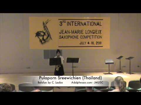 3rd JMISC. Pulaporn Sreewichien. Balafon by C. Lauba