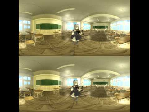 [MMD][5K] Spherical 3D 360 Video - Canon Rock feat. ????
