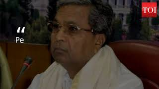 Siddaramaiah to fan: People have fooled me and it is enoug..