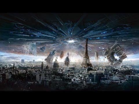 科幻片:異星巨型飛船降臨地球,直徑達3000公里,要掠奪地核當燃料!