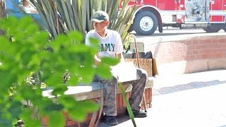 THIS HOMELESS VETERAN WILL MAKE YOU CRY! | HoomanTV