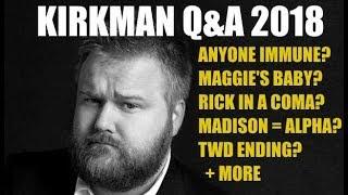 The Walking Dead Season 8 Robert Kirkman Panel - Great Information From Robert Kirkman