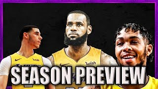 Los Angeles Lakers 2018-19 Season Preview (30 Teams in 30 Days)