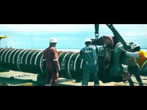 MV Svenja, Installing Gas Platform