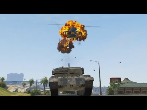 I HAVE A TANK! - Grand Theft Auto 5 - Smashpipe Games