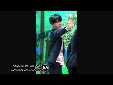 [MPD직캠] 엑소 세훈 직캠 LOVE ME RIGHT EXO SeHun Fancam  Mnet MCOUNTDOWN 150604