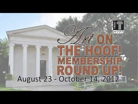 Art on the Hoof Member Roundup 2 - Nave Museum - Victoria, Texas