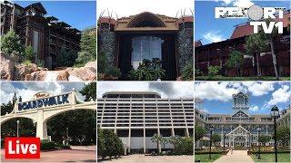 🔴Live: Epic Resort Hopping Stream in 1080p - Walt Disney World Live Stream - 4-19-19