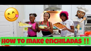 COOKING WITH MY DAUGHTERS!!