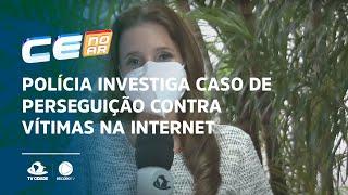 Polícia investiga caso de perseguição contra vítimas na internet