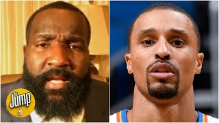 Perk doesn't agree with George Hill's comments on the NBA's stricter COVID-19 protocols | The Jump