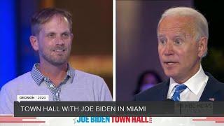 NBC News town hall with Democratic presidential nominee Joe Biden in Miami