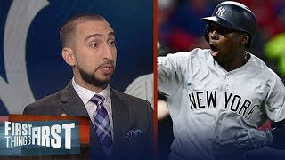Nick Wright: Yankees took advantage of the flawed MLB Playoff structure | FIRST THINGS FIRST