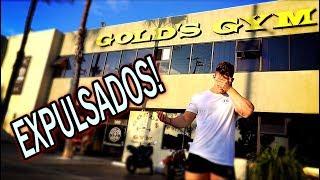 NOS EXPULSAN de GOLD'S GYM | LOS ANGELES empieza muy mal