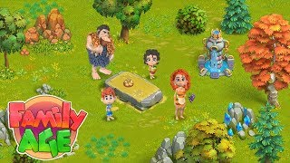 🌴Family Age: Build your farm on the lost island 😨