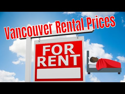 Rent prices in Vancouver.  $$$