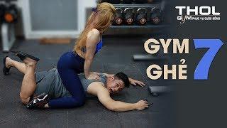 GG 7 | Tập gym xỉu gái đẹp massage cởi ngựa cực phê