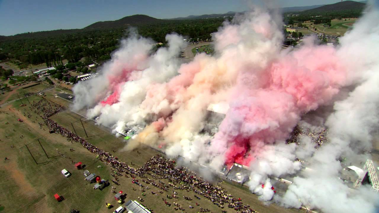 Best Burnout Ever Summernats Guinness World Record
