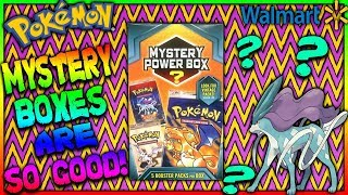 ONE OF MY BEST POKEMON MYSTERY POWER BOXES! SECRET RARE AND FULL ARTS!