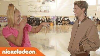 BTS w/ Jace Norman & JoJo for Fun & Games on Set of 'BLURT!' | Nick