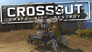 Best Crossout Builds | Incredible Mech Walker! Best Tanks and Planes! (Crossout Gameplay)