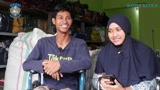 Kisah Arif, Difabel Mantan Loper yang Kini Jadi Bos Konveksi