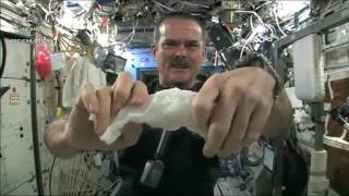 Wringing out Water on the ISS   for Science!