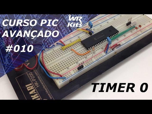 TIMER0 DO PIC18F4550 | Curso de PIC Avançado #010