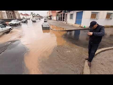 أمطار الخير تعري على البنية التحتية الحديثة بالناظور