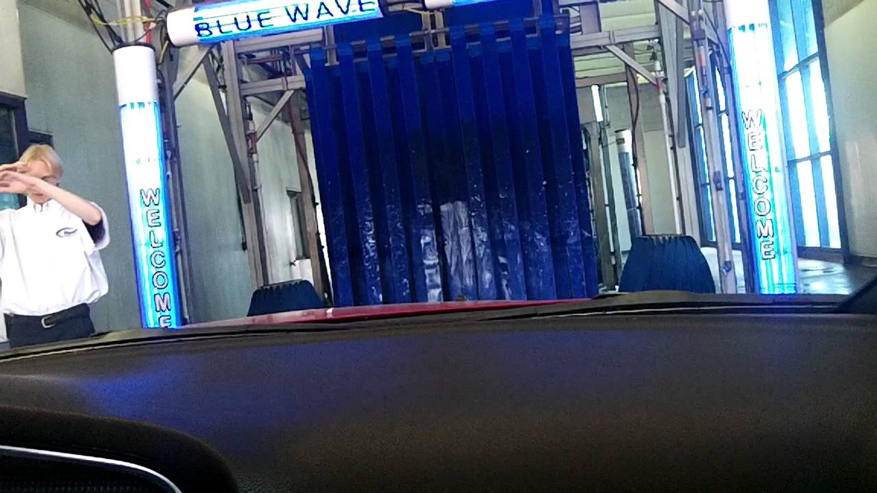Bluewave Express Car Wash: Really Nice Sonny's Tunnel @ Blue Wave Express Car Wash