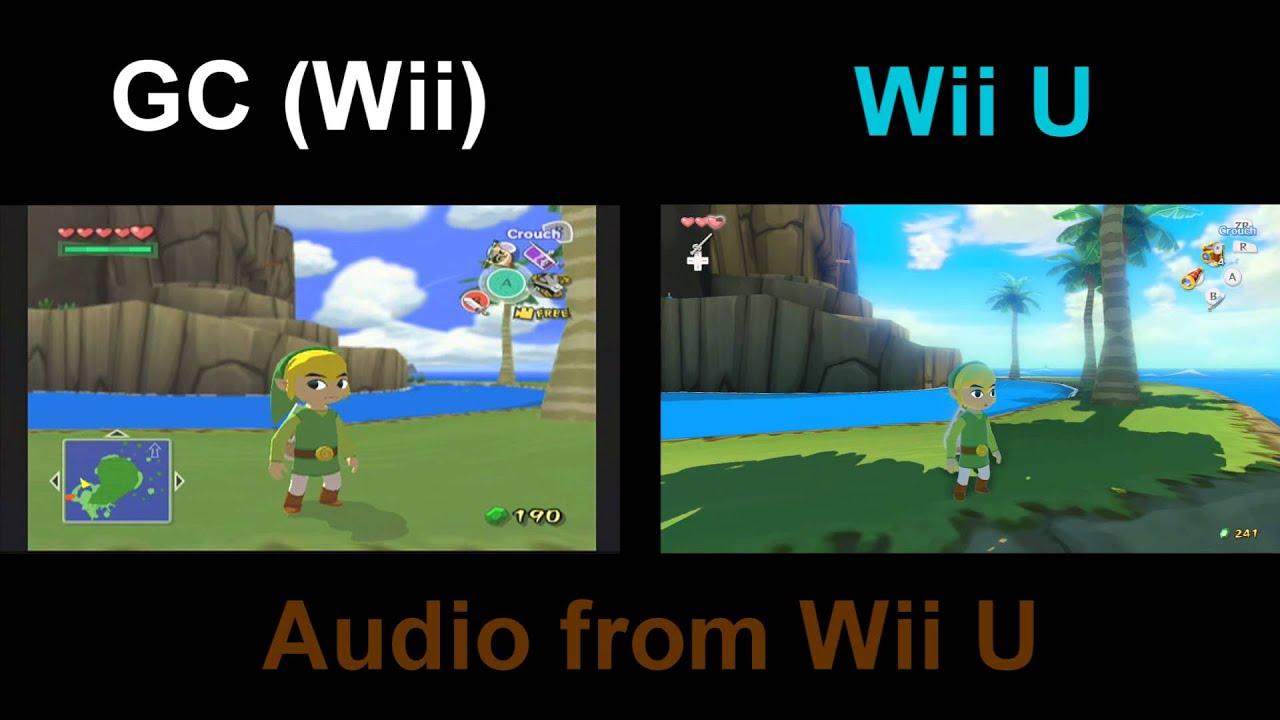 The Wind Waker Hd Comparison Wii U Amp Gc Comparison Sd