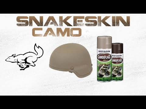 Spray Painting A Hat Camo