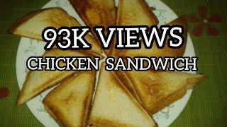 HOW TO MAKE CHICKEN SANDWICH IN SANDWICH MAKER