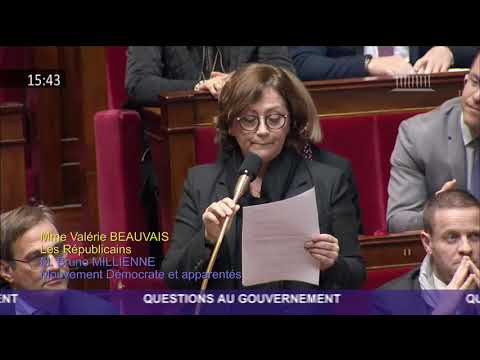 Mme Valérie Beauvais - Collecte des bouteilles plastiques