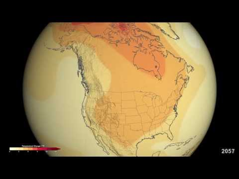 Projected U.S. Temperature Changes by 2100
