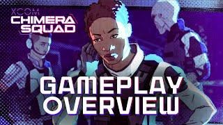 XCOM: Chimera Squad - Gameplay Overview