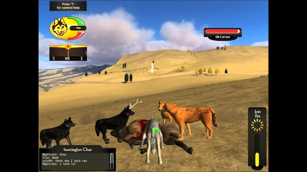 WolfQuest Multiplayer - Bull hunting - YouTube - photo#2