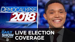LIVE Midterm Election Coverage - The Dems Take the House | The Daily Show
