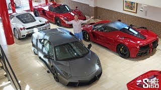 Japan's Best Car Collection and Man Cave!