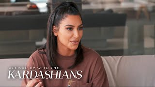 Kim Kardashian Lies to Khloé About Her Birthday Party | KUWTK | E!