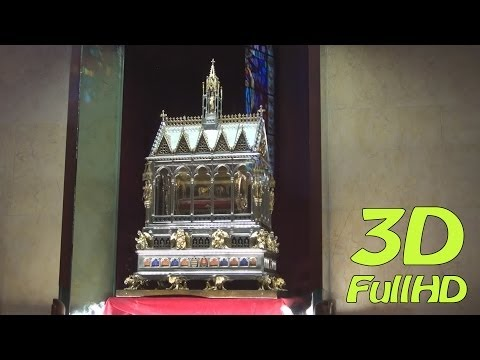[3DHD] Walking Tour/Gyalogtúra: St. Stephen's Basilica / Szent István-bazilika, Budapest, Hungary