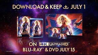 Captain Marvel | On Digital Download, 4k Ultra HD, Blu-ray & DVD