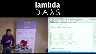 Lambda Days - Anthony Brown - An intro to F#