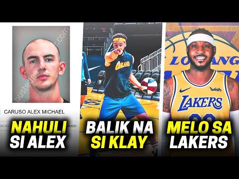 Alex Caruso Arestado   Klay Balik Practice Na   Carmelo Kukunin Ng Lakers + More NBA News