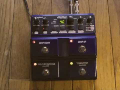How to LOOP in stereo: McGuire Music demos the JamMan Stereo Looper from Digitech