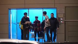 171106 Donghae Eunhyuk Leeteuk Heechul Yesung Shindong after showcase