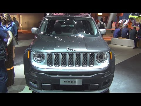 @Jeep #Renegade Limited 1.6 MultiJet II 120 hp DDCT (2017) Exterior and Interior in 3D